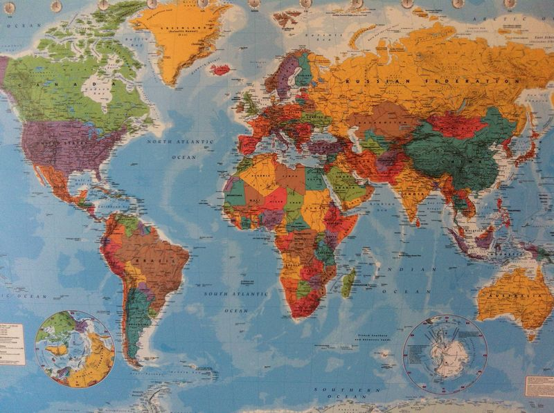 Planning a Travel Itinerary – World Map For Travel Planning
