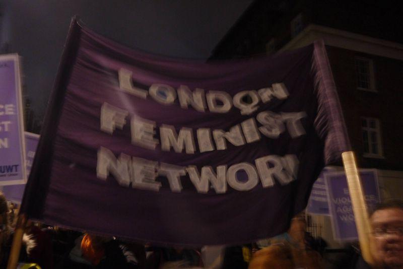 London Feminist Network Banner