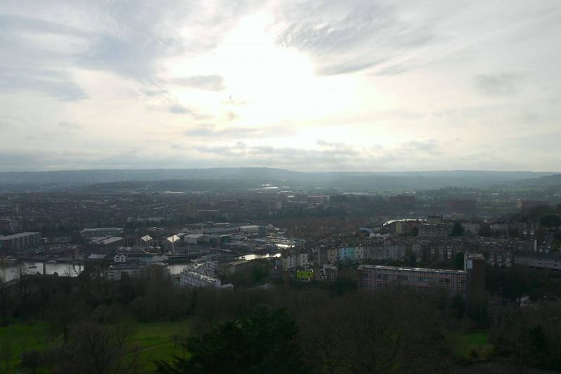 View of Bristol from Cabot Tower
