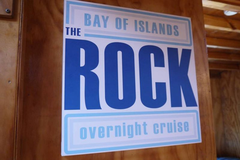 The Rock Overnight Cruise, Bay of Islands