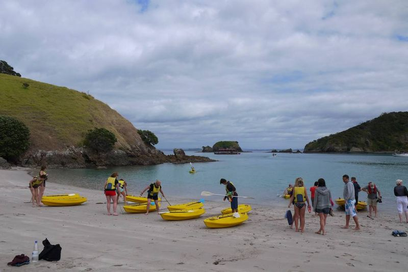 Bay of Islands beach, New Zealand