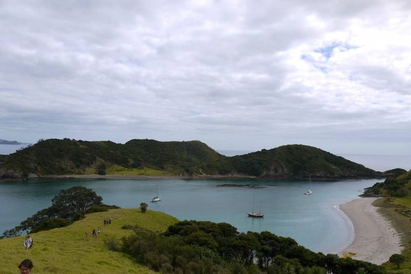 Picturesque views of the Bay of Islands