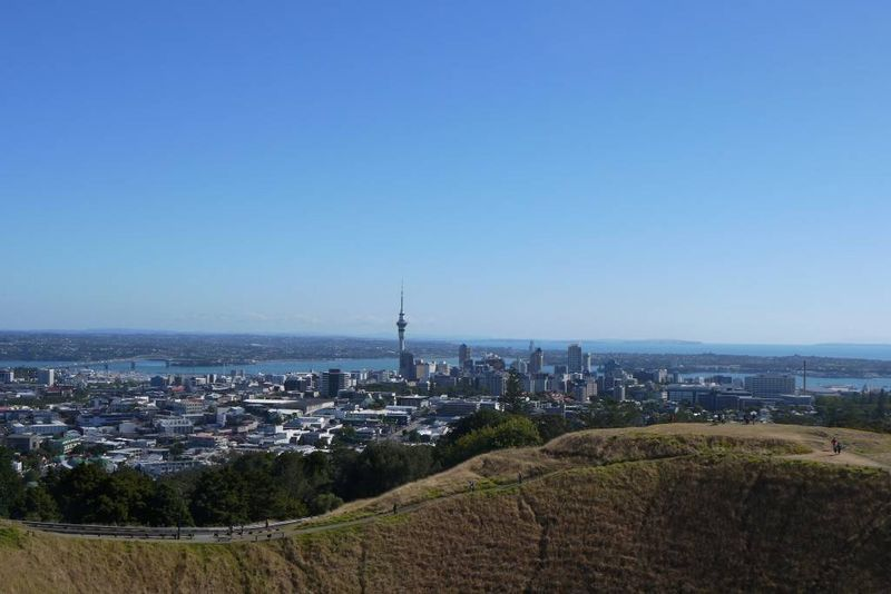 The View of Auckland from Mount Eden