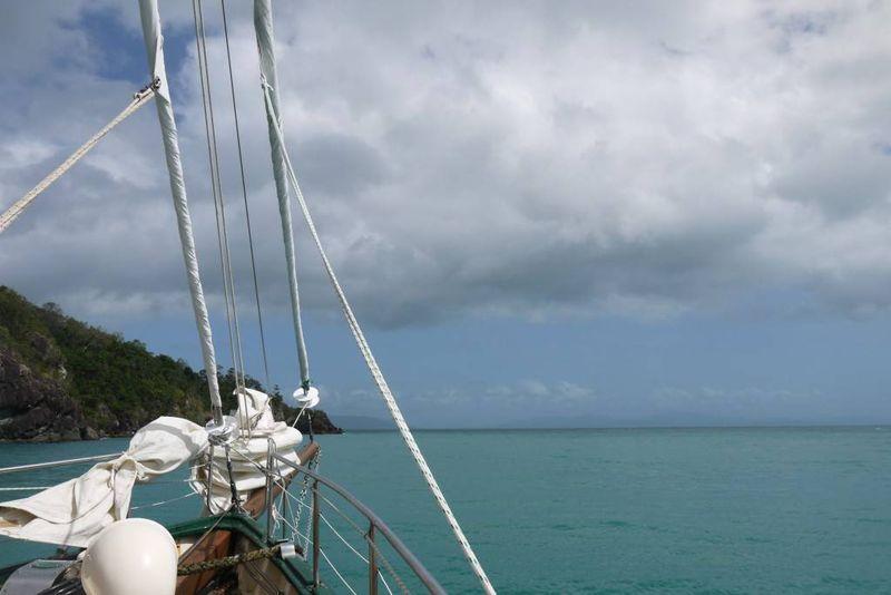 Sailing the Whitsunday Islands, Australia