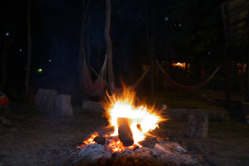 Campfire in 1770