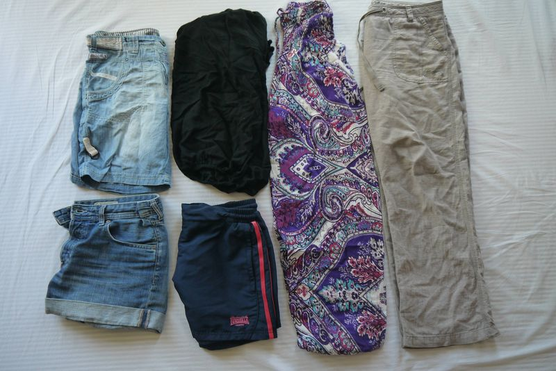 Amy's Travel Trousers and Shorts