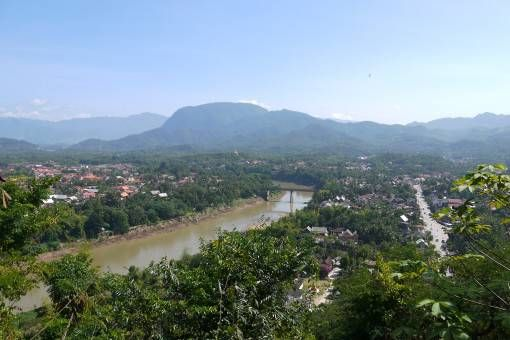 View from Phousi Hill, Luang Prabang