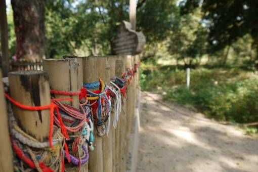 Bracelets at the Killing Fields