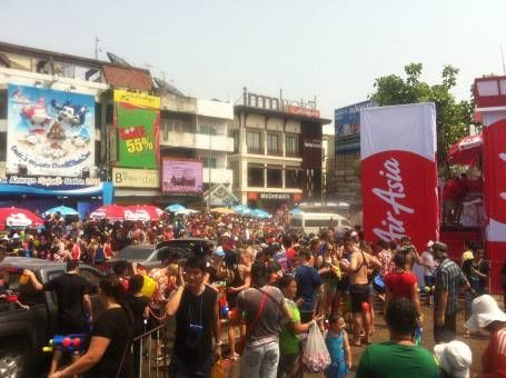 Songkran 2014 in Thailand
