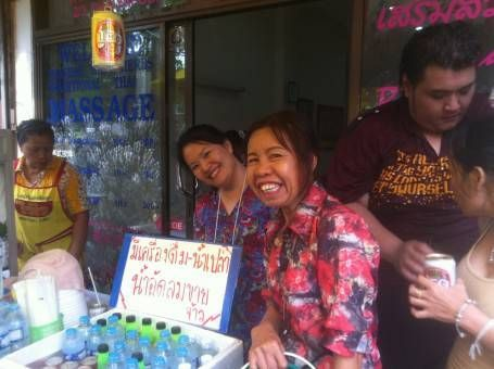 Thai Women Celebrating Songkran 2014 in Chiang Mai