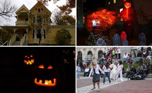 Pumpkins, Zombies and Haunted Houses - Creepy Portland at Halloween