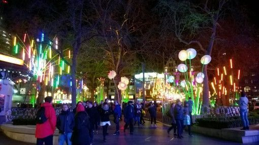 Lumiere light festival in London