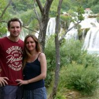 Us at Krka National Park