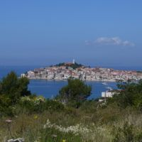 Primosten, Croatia, view from above