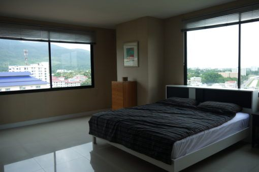 The Bedroom in our New Flat in Chiang Mai