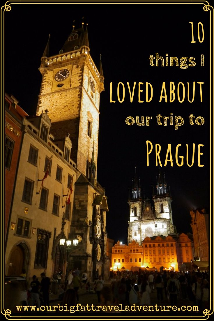 10 things I loved about Prague Pinterest poster
