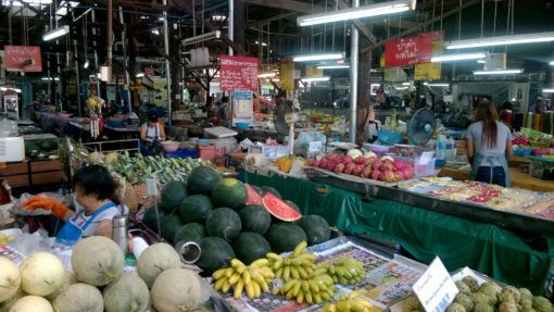 Shopping at Somphet Market in Chiang Mai