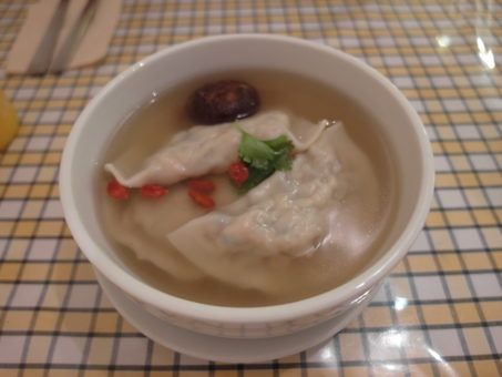 Vegetable Dumpling Soup from The Healthy Leaf in Georgetown, Penang