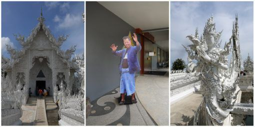 The White Temple, Chiang Rai Collage