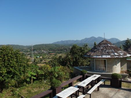 Viewpoint at Mae La Noi in Thailand
