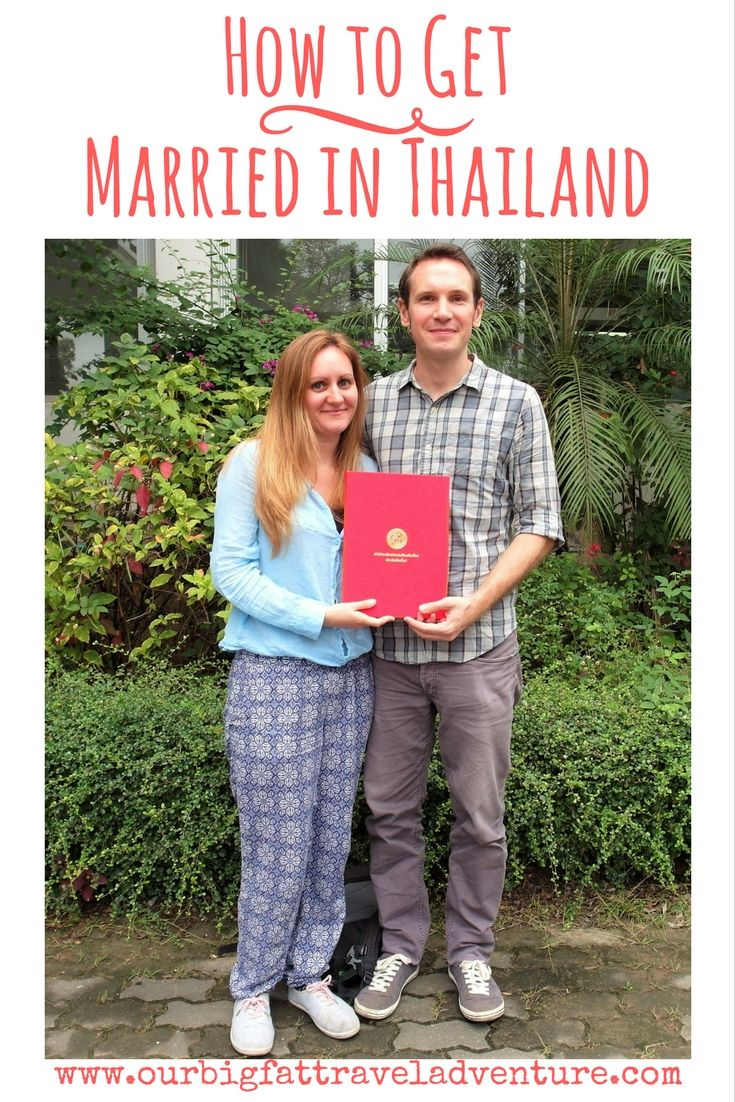 How to get married in Thailand, Pinterest Pin