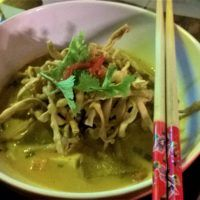 Pumpkin Khao Soi from K's Kitchen, Nimmanhaemin, Chiang Mai