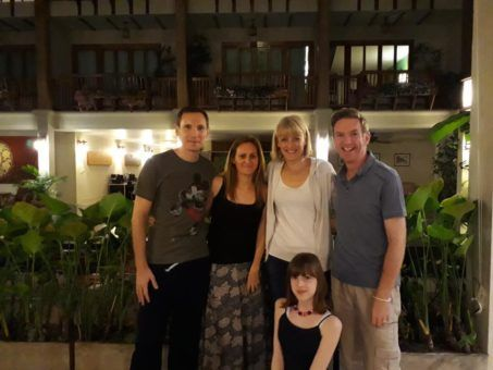 Hanging out with the Norman family in Chiang Mai