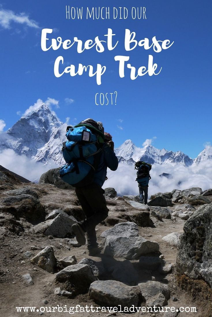 How much did our Everest Base Camp Trek Cost?