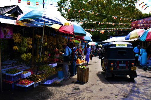 The colourful Kandy Market