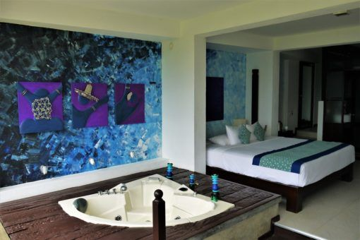Our suite at Theva Residency, Sri Lanka