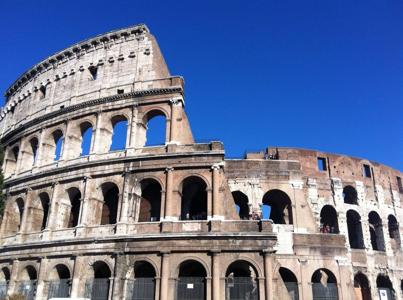The Colosseum, one of the top tourist attractions in Rome