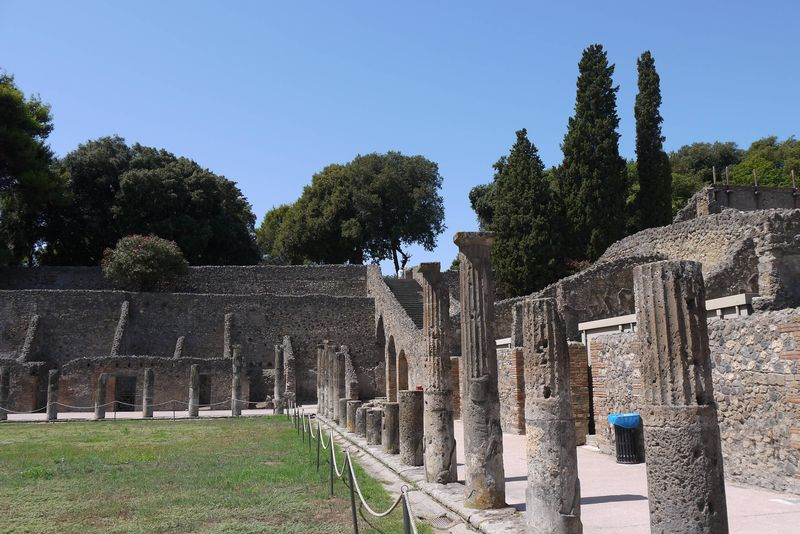 Pompeii - gladiator school