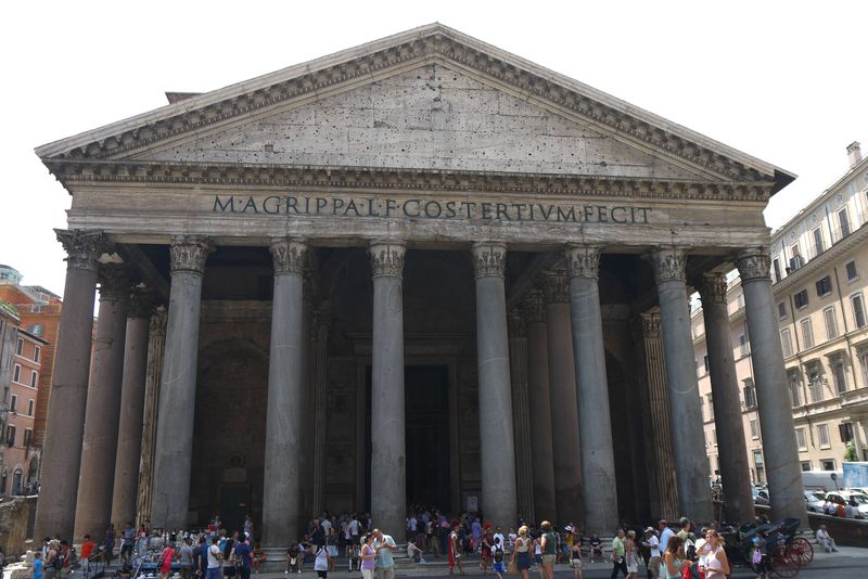 The Pantheon in Italy, one of the top places to visit in Rome