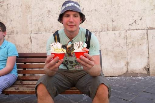 Ice Creams in Rome - Food in Rome