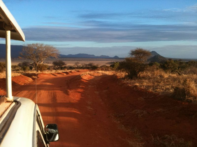 Why Travel? On the road in Kenya