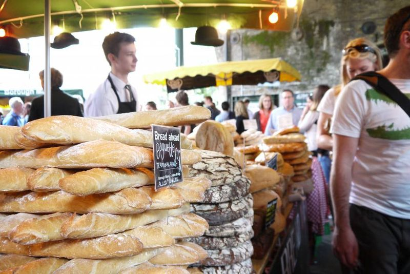 Borough Market bread stall