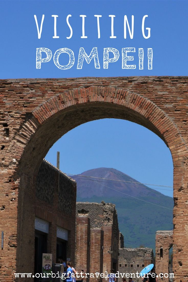 visiting pompeii pinterest pin