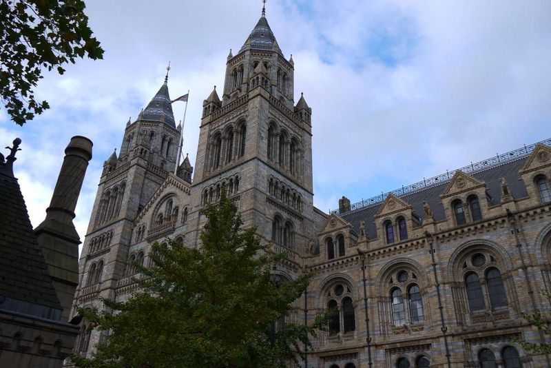 The Natural History Museum from the outside