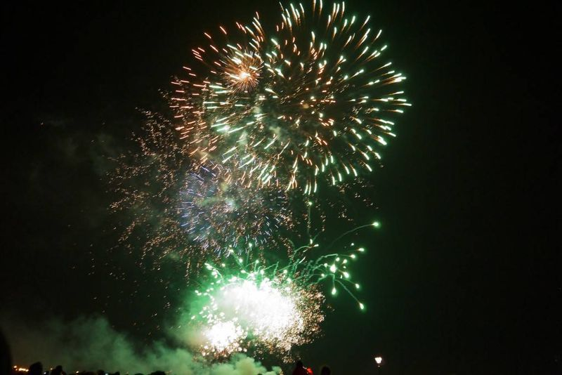 Free Firework Display at Blackheath, Greenwich