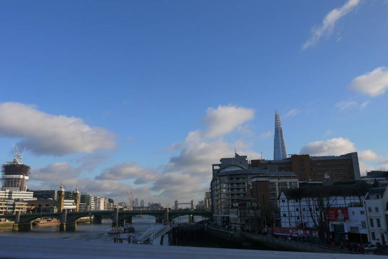 The Thames from the Millenium Bridge