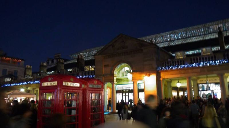 Covent Garden by Night