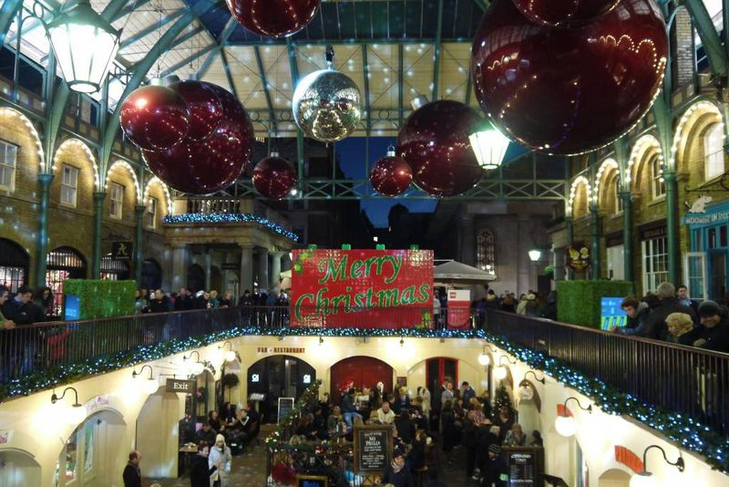 Covent Garden Christmas Decorations
