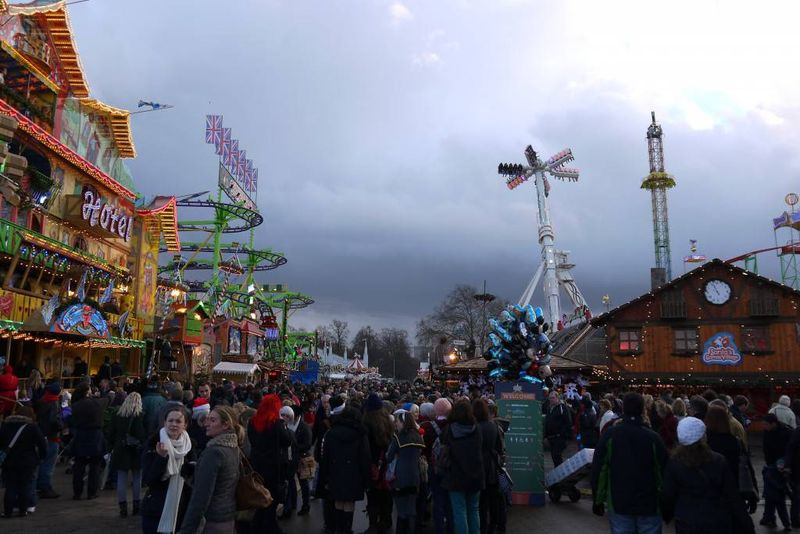 Winter Wonderland Fairground
