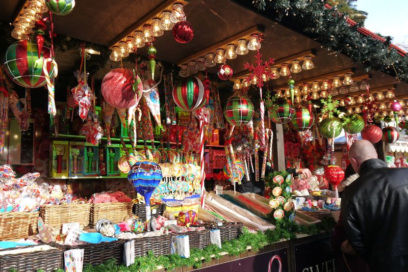 Winter Wonderland Sweet Stall
