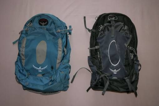 Osprey travel backpacks