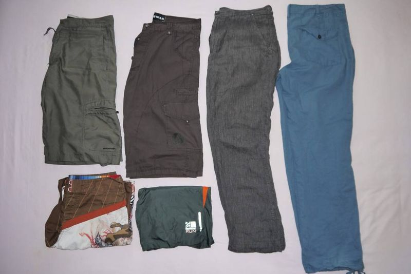 Andrew's travel trousers & shorts