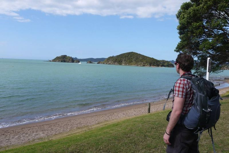 Our first view of Paihia