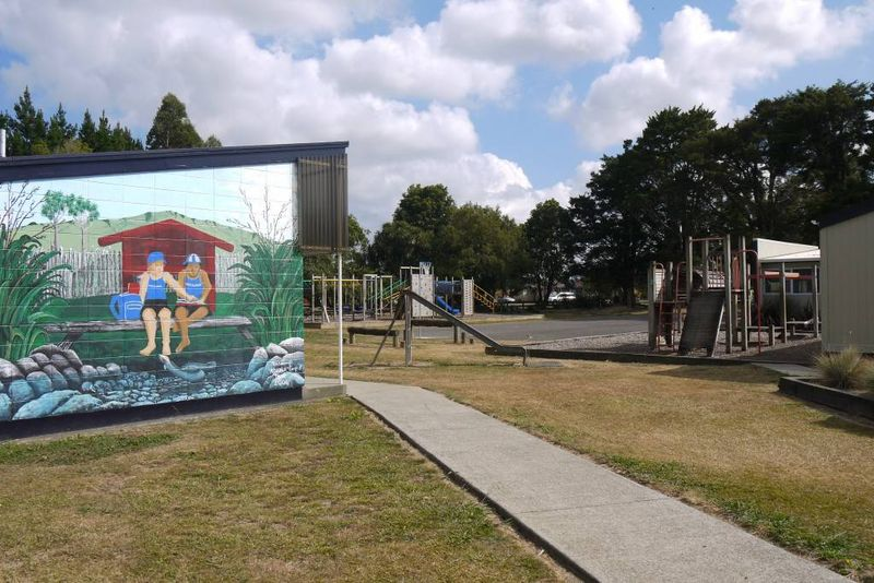 Whatawhata School playground, New Zealand