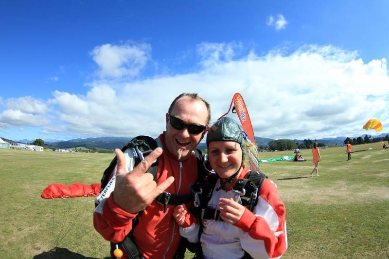 After my Abel Tasman Skydive
