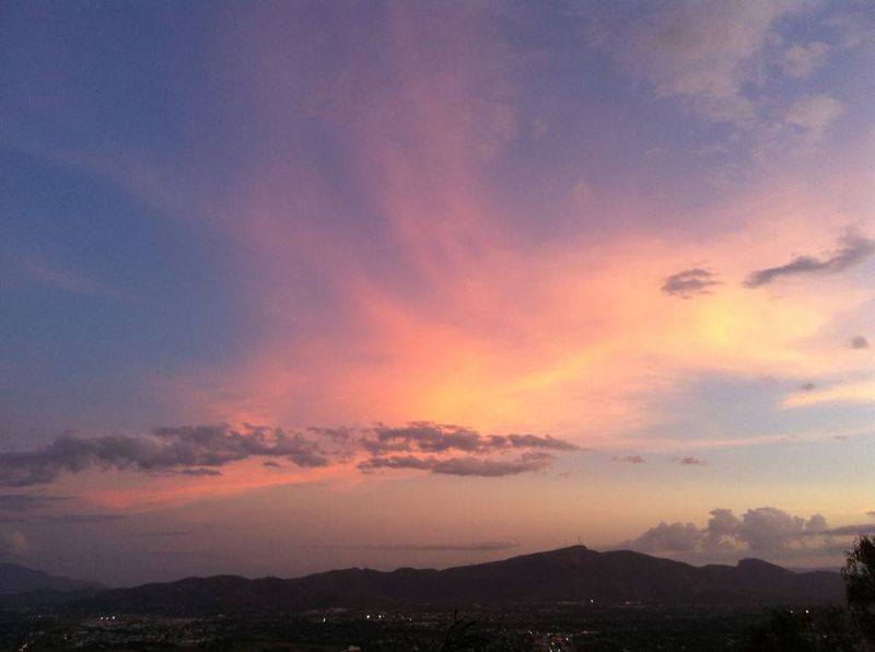 Sunset on Castle Rock, Townsville Australia